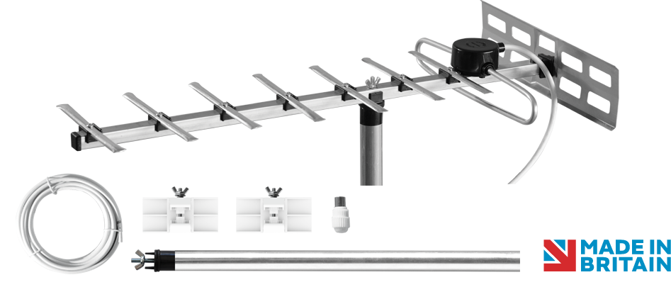 Maxview Mobile Tv Aerial Kit 9 Element