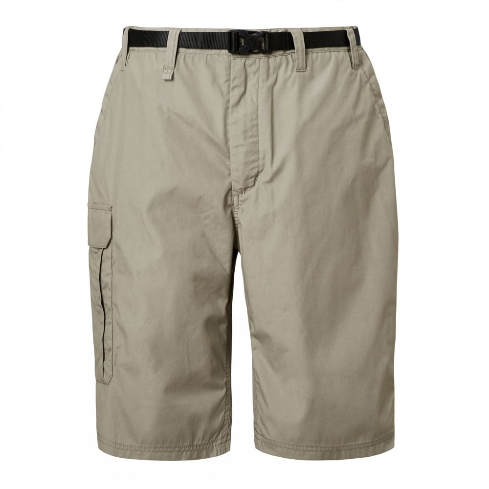 Craghoppers Mens Kiwi Long Shorts-Rubble
