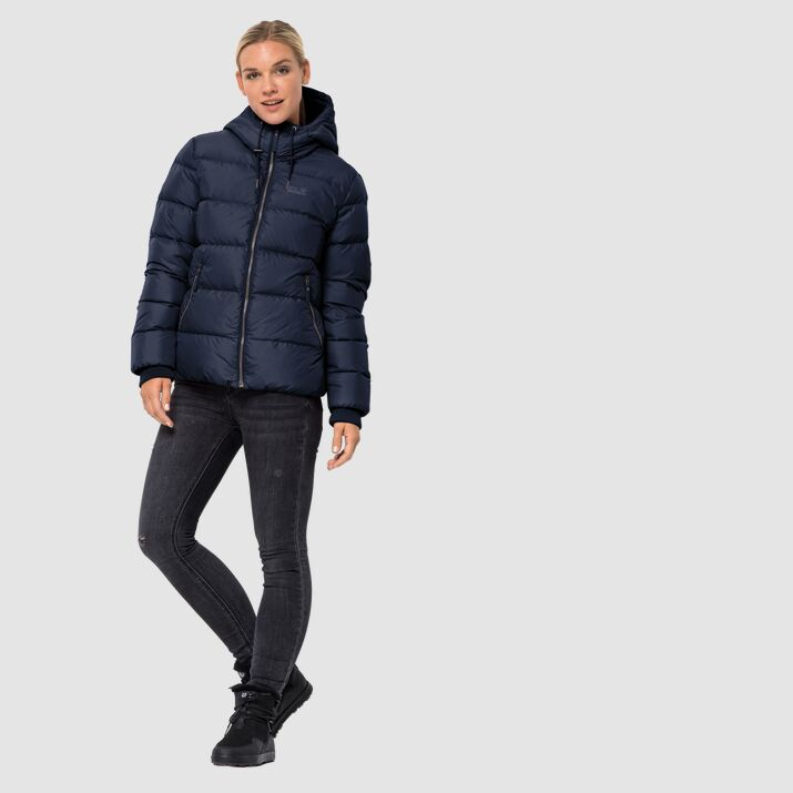 Jack Wolfskin Crystal Palace Jacket Womens Midnight Blue