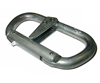 Foin 10mm Dual Action steel karabiner