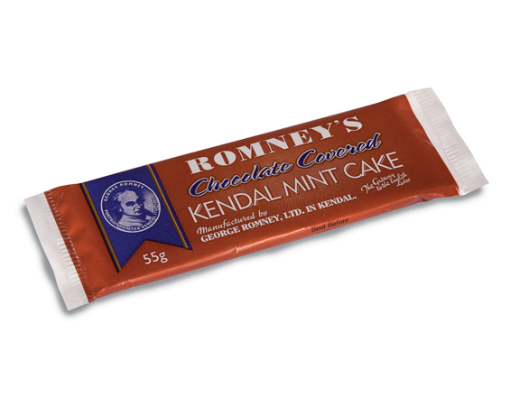 Romney's Kendal Mint Cake Chocolate Coated 55g