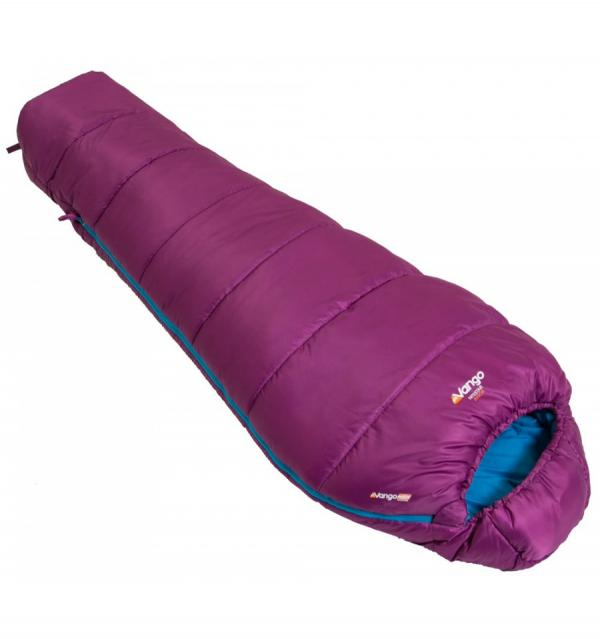 Vango Nitestar Junior Plum Purple Sleeping Bag