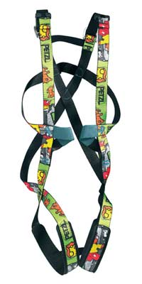 PETZL OUISTITI CHILDRENS CLIMBING HARNESS