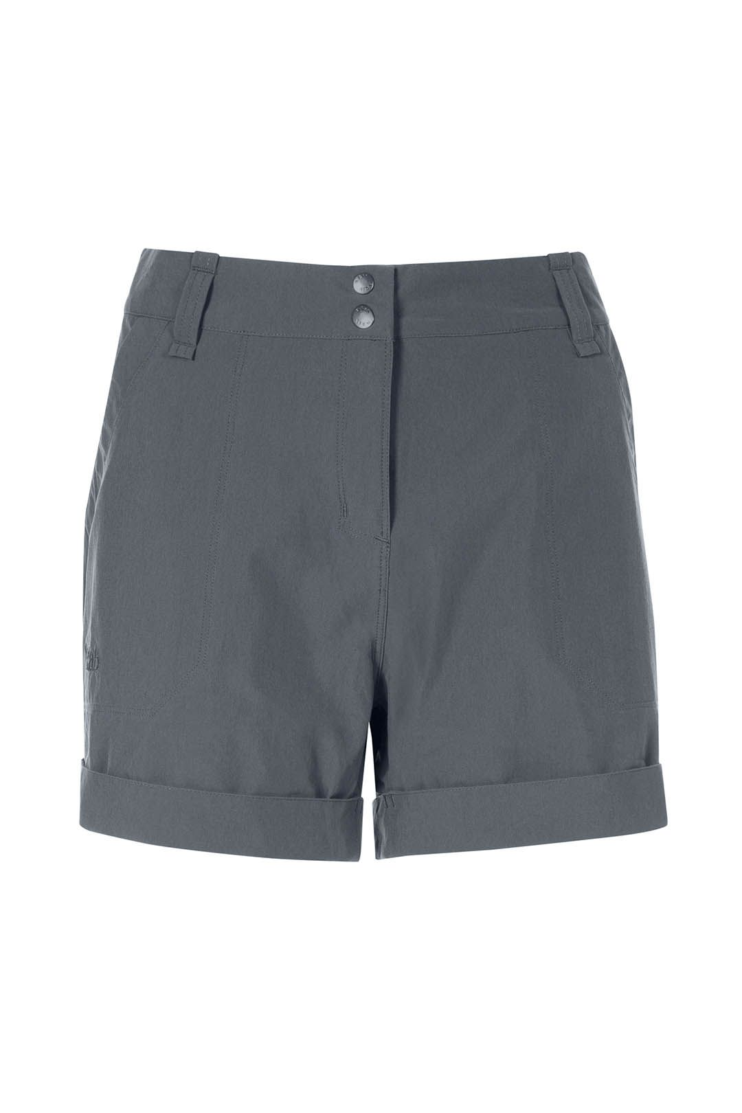 Rab Helix Shorts Womens Graphene