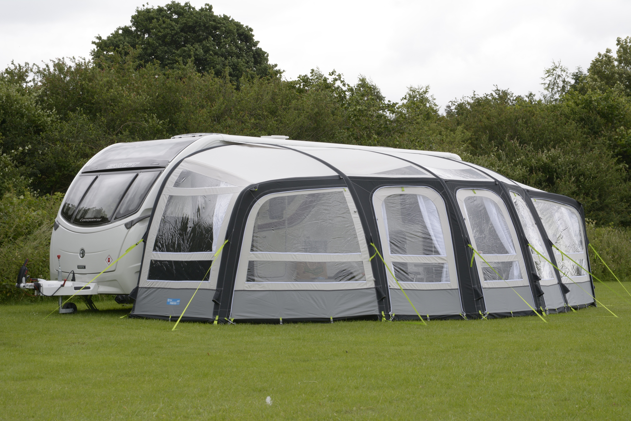 K&a Frontier Pro Air Caravan Awning 2017 & Buy Video Reviews Online | BCH Camping