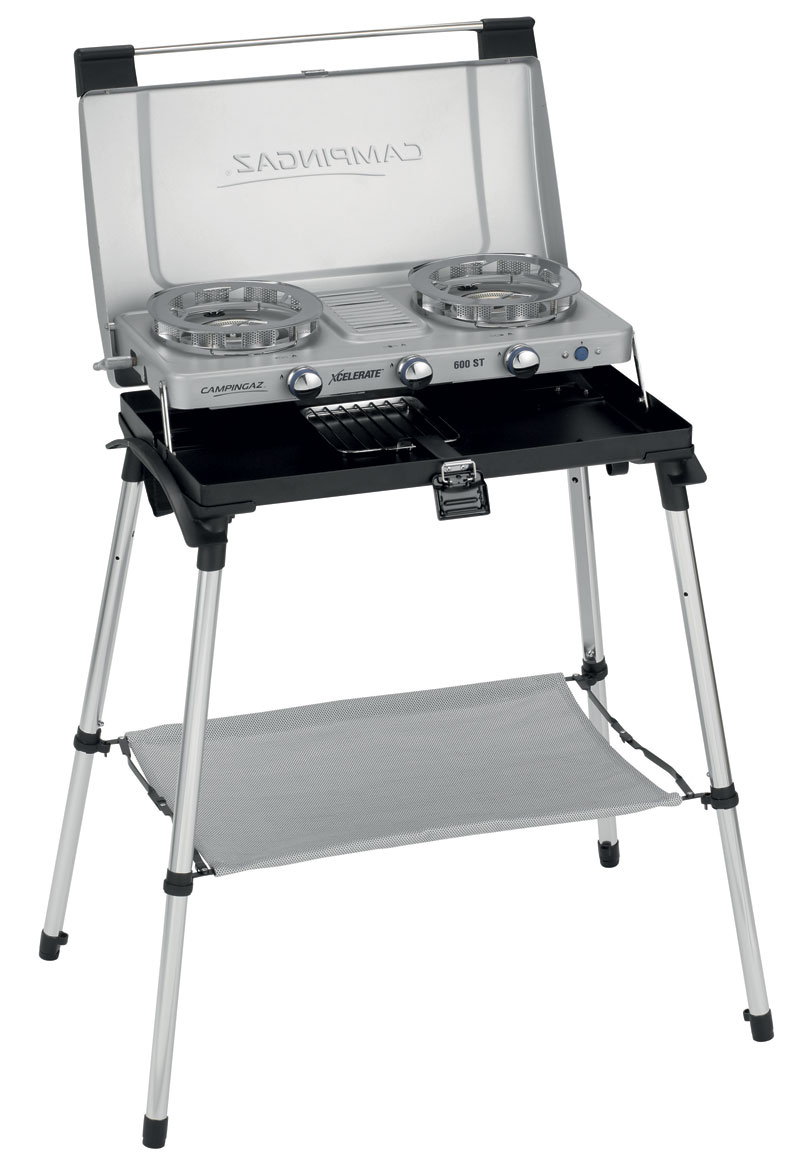 Campingaz 600-ST Double Burner Stove With Stand and Toaster
