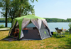 Coleman Cortes Octagon 8 Person Tent Green