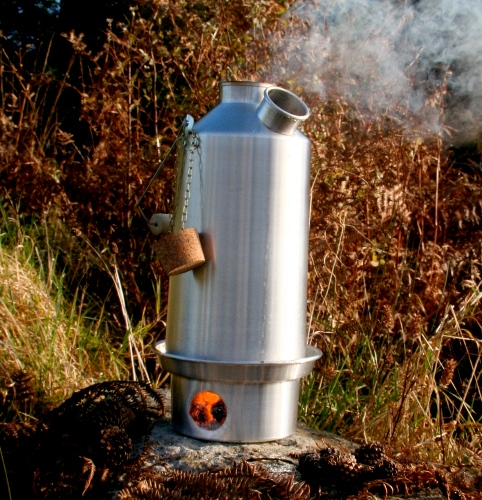 Kelly Kettle Base Camp 1.6Litre Alumimium Kettle