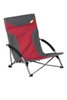 Kampa Sandy High Back Low Chair-Red