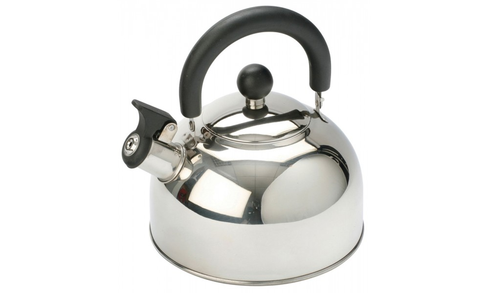 Vango 2.0L Stainless Steel Kettle with Folding Handle