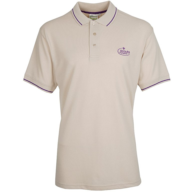 Adult Tipped Polo Shirt Unisex