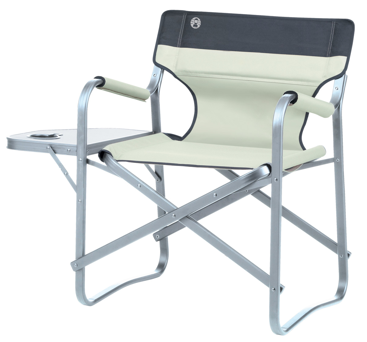 Coleman Deck Chair with side table