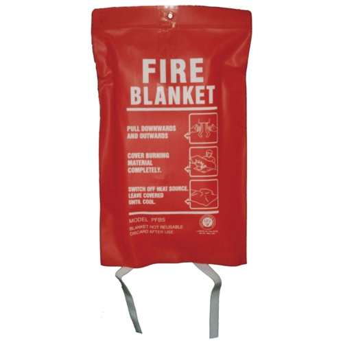 Fire Blanket 1m x 1m BS/EN1869