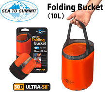 Sea to Summit Ultrasil Folding Bucket 10 Litre Orange Black