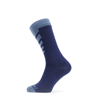 SealSkinz Waterproof Warm Weather Mid Length Sock Navy Blue