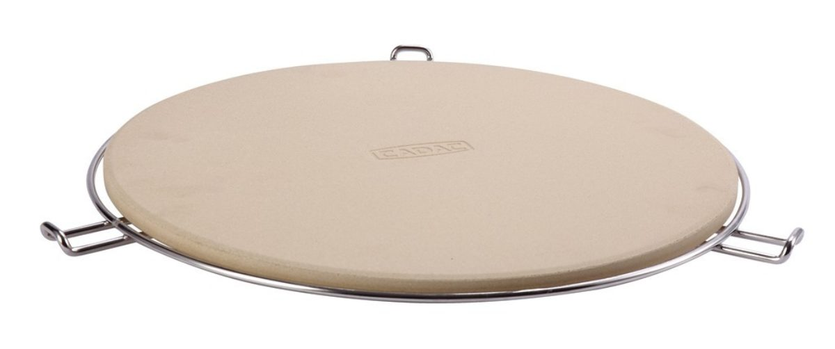 Cadac Pizza Stone Pro 36cm (with flame deflector)