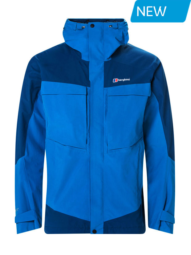 Berghaus Mens Mera Peak 5.0 Waterproof Jacket Blue