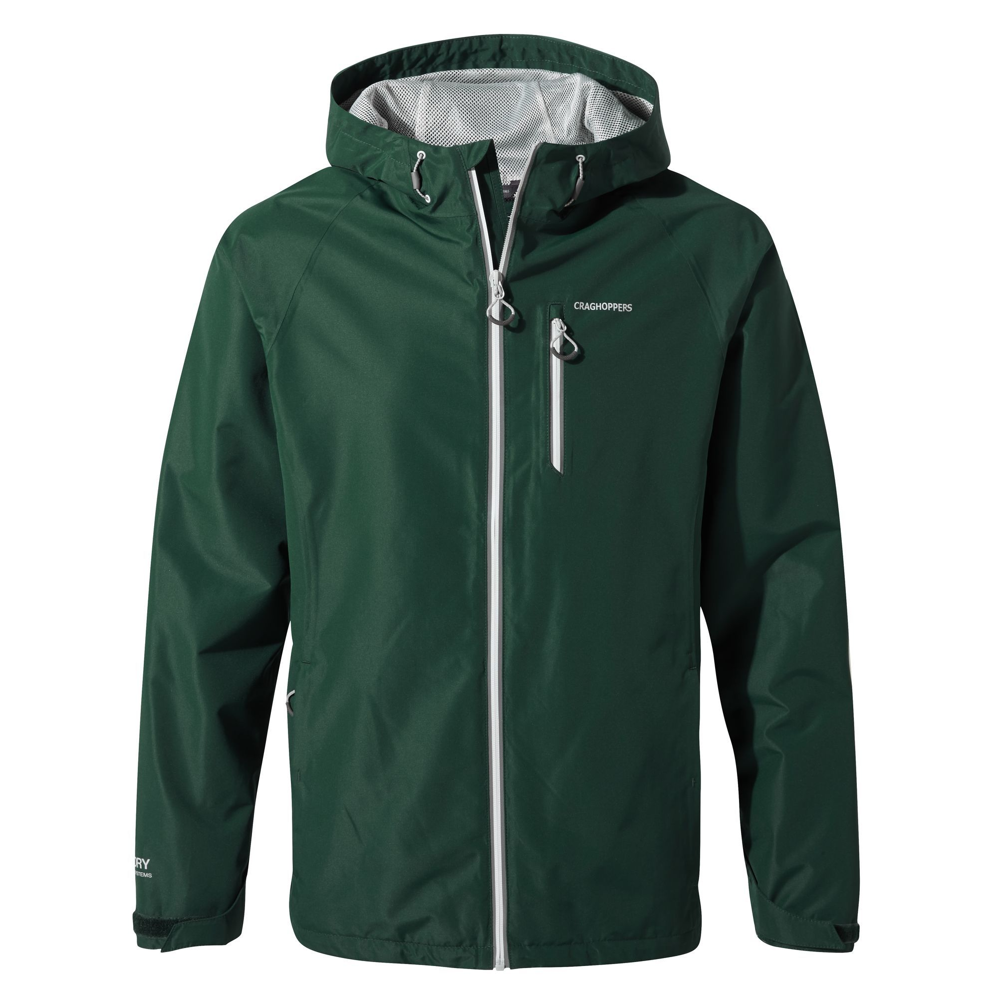 Craghoppers Mens Crawney Jacket-Mountain Green