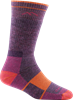 Darn Tough Wms Hiker 1908 Boot Sock Full Cushion Plum Heather