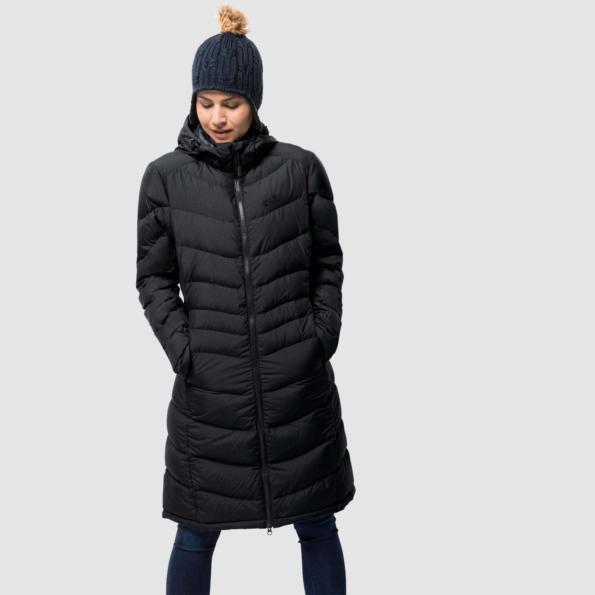 Jack Wolfskin Selenium Coat Womens Black