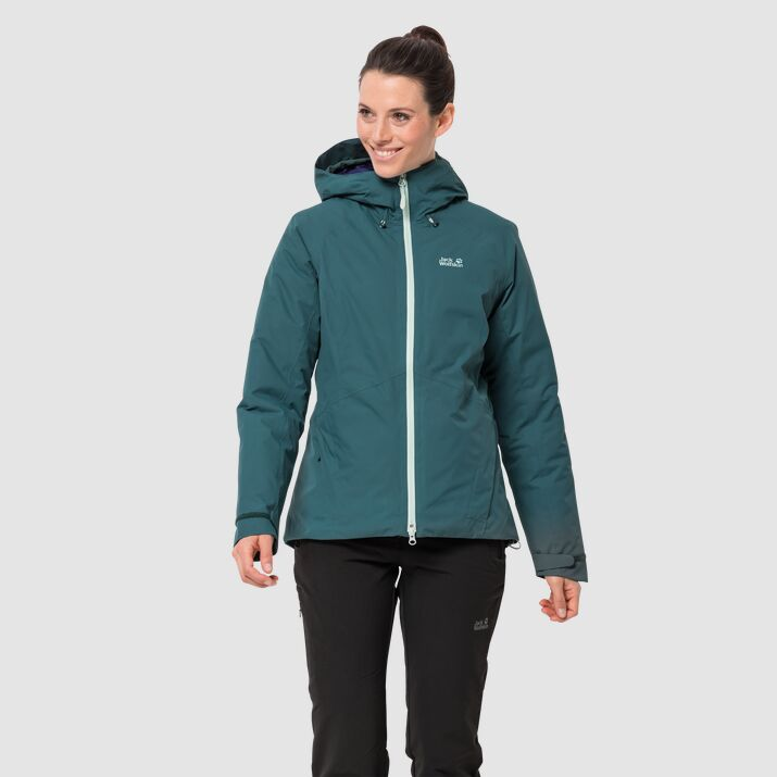 Jack Wolfskin Argon Storm Womens Jacket Dark