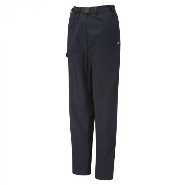 Craghoppers Mens Classic Kiwi Trousers Long Leg-Dark Navy