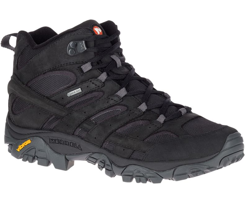 Merrell Moab 2 Smooth Mid Gore-Tex Black