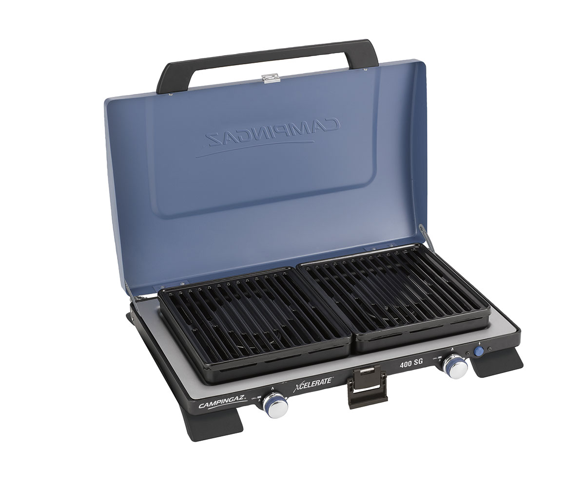 Campingaz 400-SG Two Burner Stove With Griddle Plates