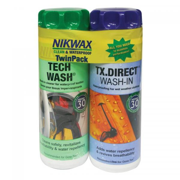Nikwax Twin Tech Wash/Proofer 300ml Wash In
