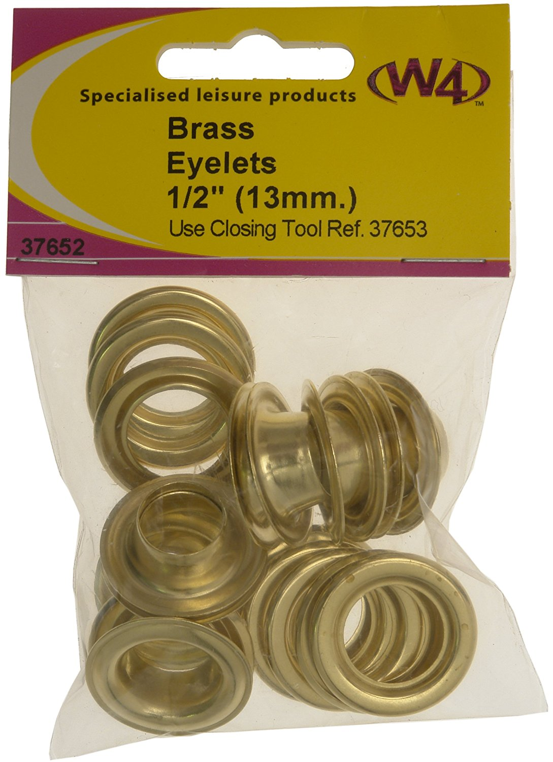 W4 Brass Eyelets 1/2in