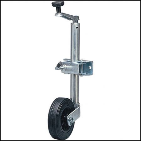 Maypole 34mm Lightweight Jockey Wheel 75kg nose weight max