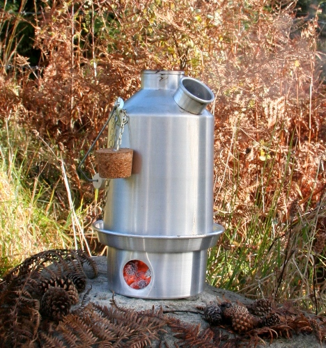 Kelly Kettle Scout Aluminium 1.2Litre Kettle