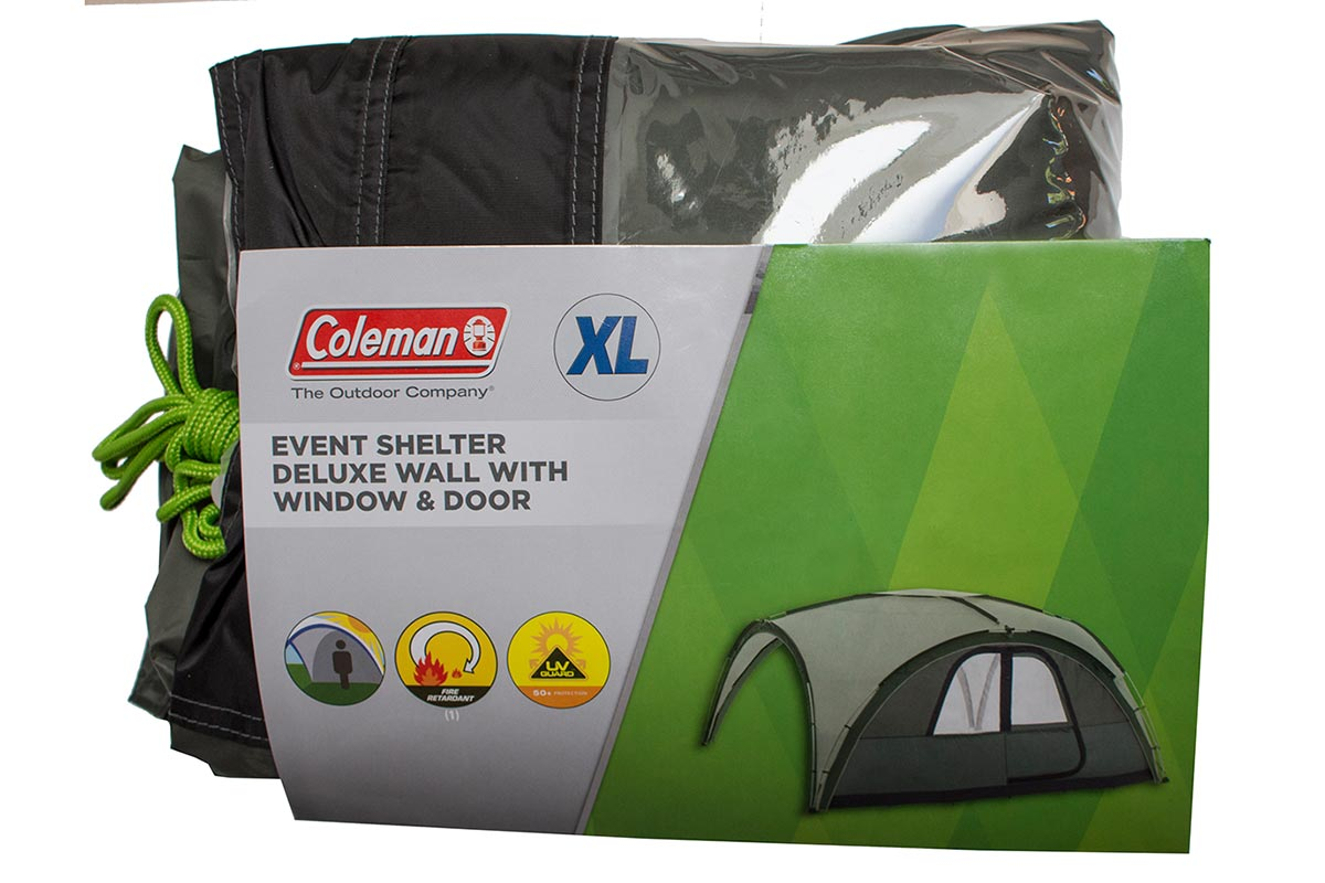 Coleman Event Shelter Deluxe Wall With Door and Window