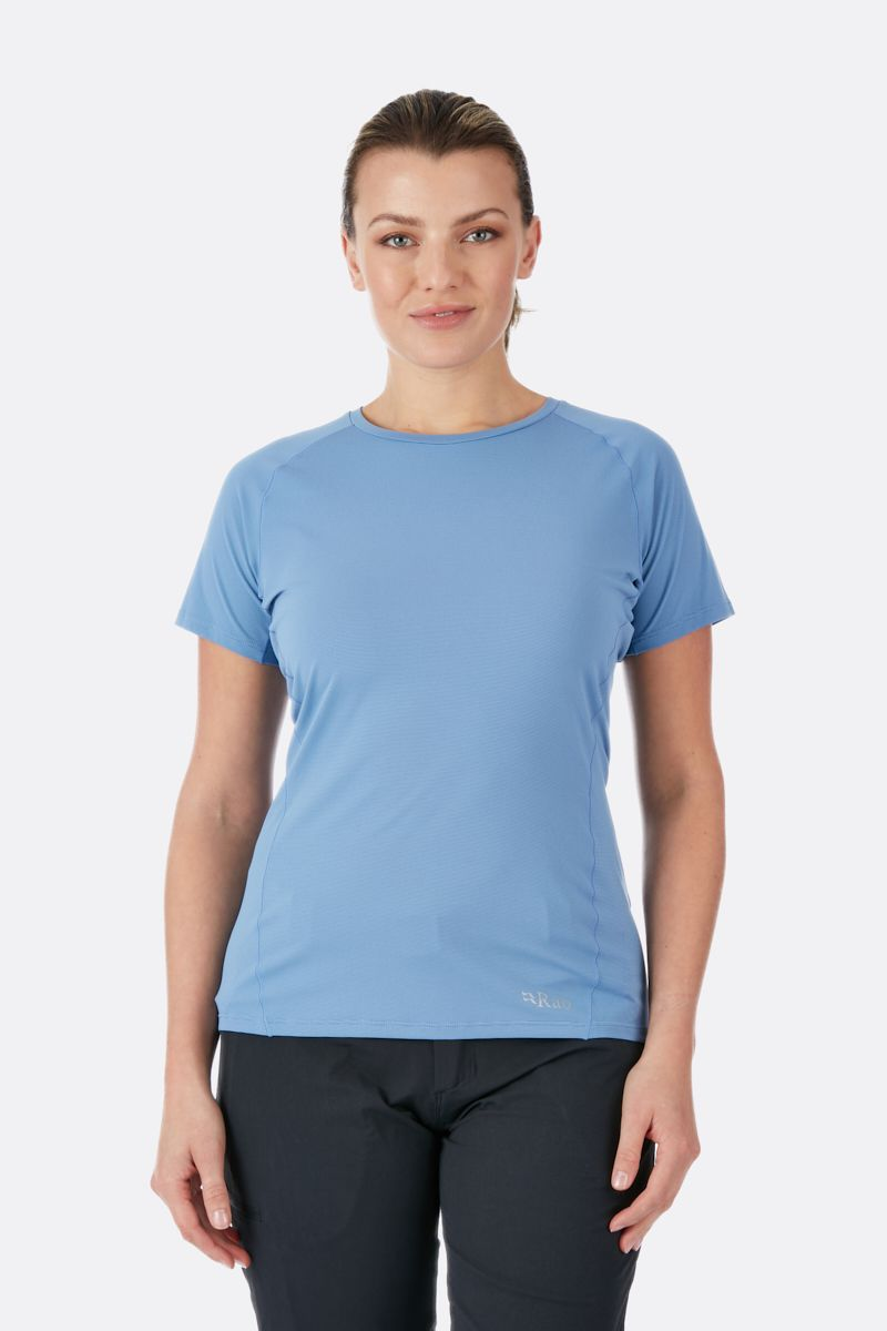 Rab Force SS Tee Womens Thistle