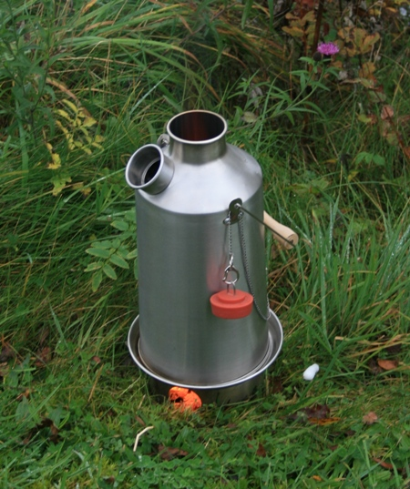 Kelly Kettle Base Camp Stainless Steel 1.6LTR Kettle