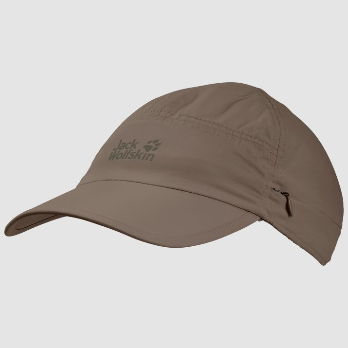 Jack Wolfskin Supplex Canyon Cap Siltstone