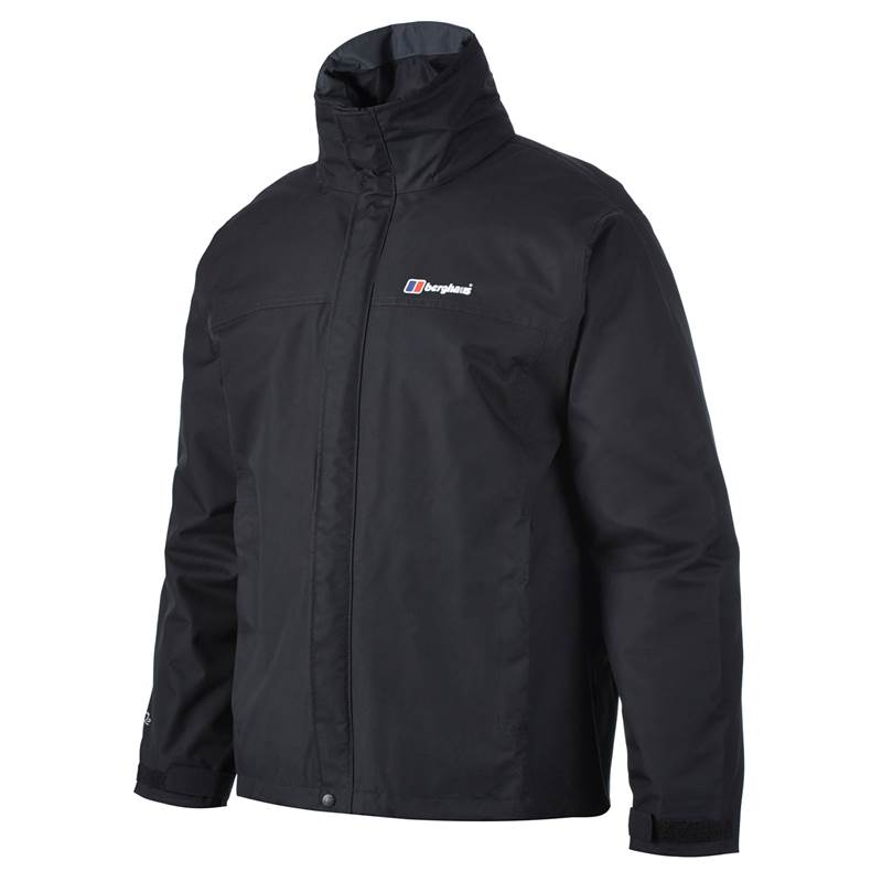 Berghaus Mens RG Alpha Shell Jacket-Black