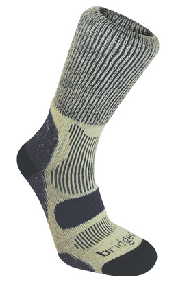 Bridgedale Mens Hike Lightweight Cotton Cool Sock